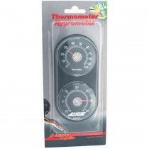 Lucky Reptile Dial Thermometer / Hygrometer LTH-22