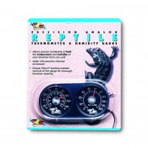 Zoo Med Analogue Thermometer Humidity Gauge TH-22