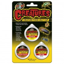 Zoo Med Creature Food Jelly Cup 3 pack, CT-60E