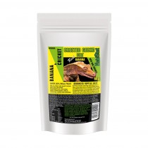 HabiStat Crested Gecko Diet, Banana and Cricket, Eco Pak 60g
