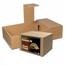 Monkfield Tortoise Table Kit, 109 x 61 x 61cm Oak