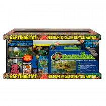 Zoo Med ReptiHabitat 40 Gallon Aquatic Turtle Kit NT-T40
