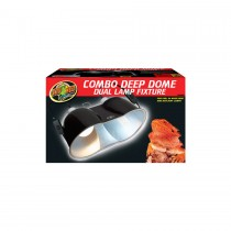 Zoo Med Large Deep Dome Combo 2-pack LF-25