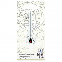 Blue Bug Magnetic Bookmark Spider