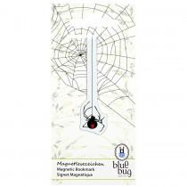 Blue Bug Magnetic Bookmark Spider