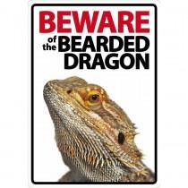 Beware Sign: Bearded Dragon