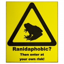 ProRep Sign Ranidaphobic Yellow