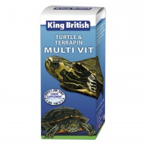 King British Turtle & Terrepin Multi-Vit 20ml