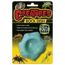 Zoo Med Creatures GLOW IN DARK Rock Dish, CT-85E